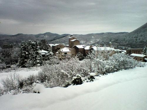 Molières sous la neige