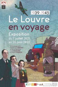 LE LOUVRE EN VOYAGE – Olympia d'Edouard Manet devant la Filature à Molières-Cavaillac